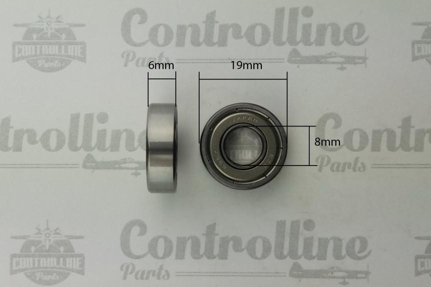 Stalker .40 .46 .51 .76 .81 front bearing  JP