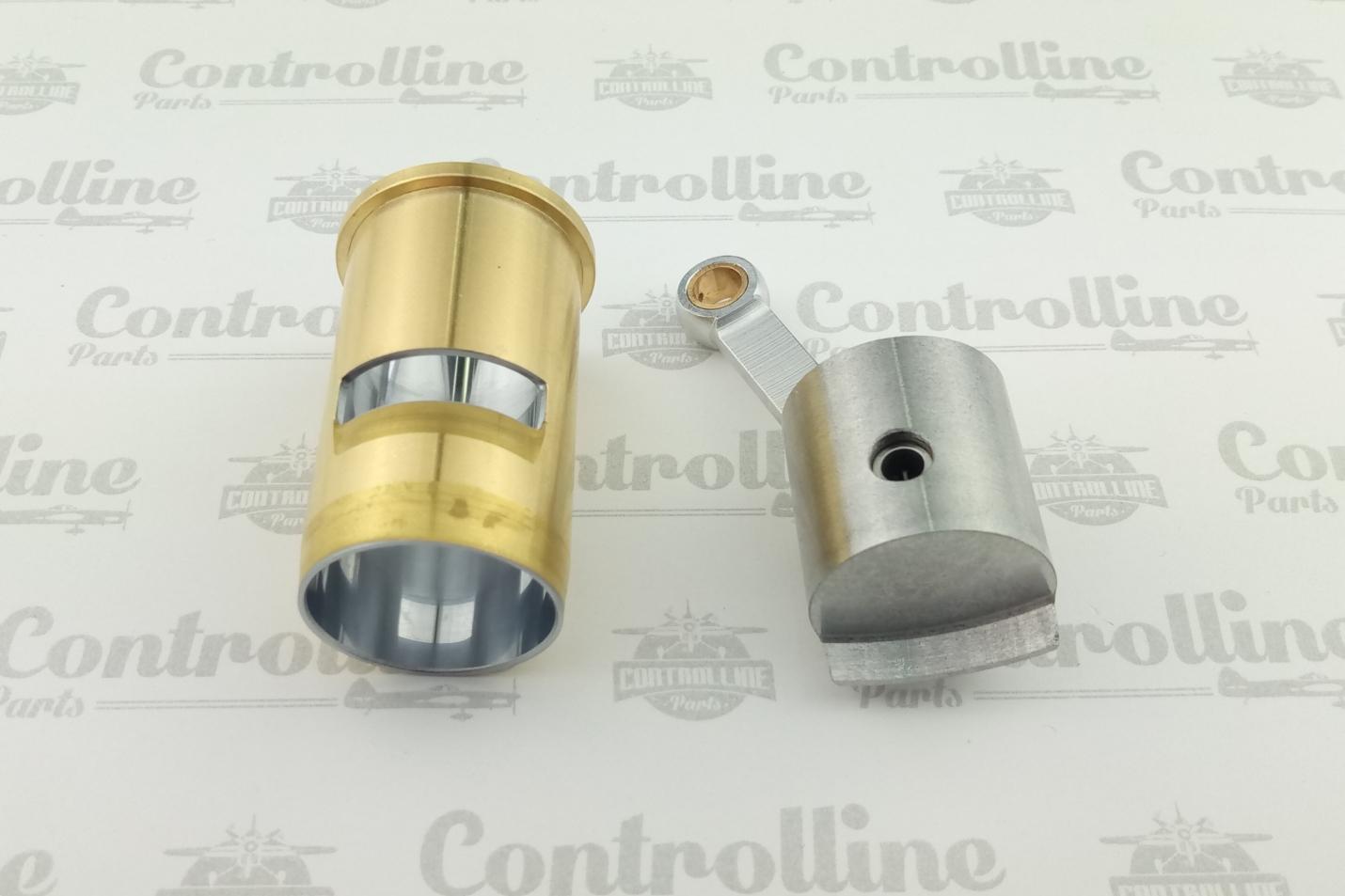 STALKER 66 / Piston, cylinder, finger and connecting rod.