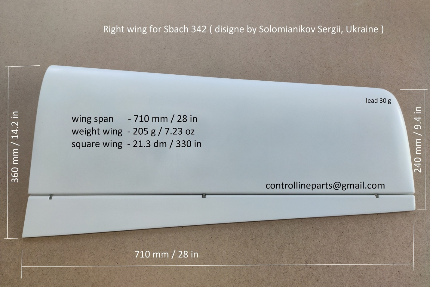 Wing Sbach 342