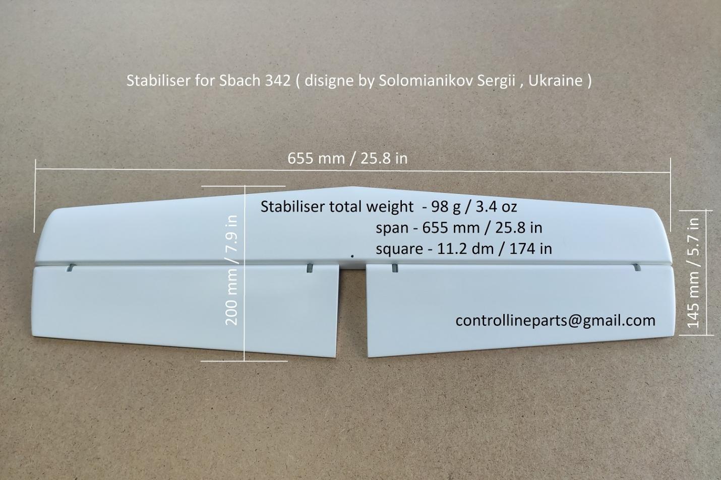 Stabiliser for Sbach 342