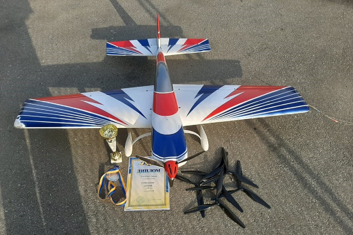 F2B carbon propeller