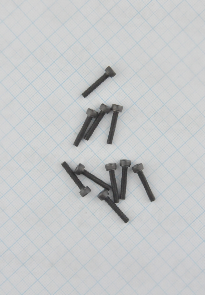 BOLT (10 PIECES)  M3x16MM  FOR  INTERNAL  HEXAGON  2.5MM