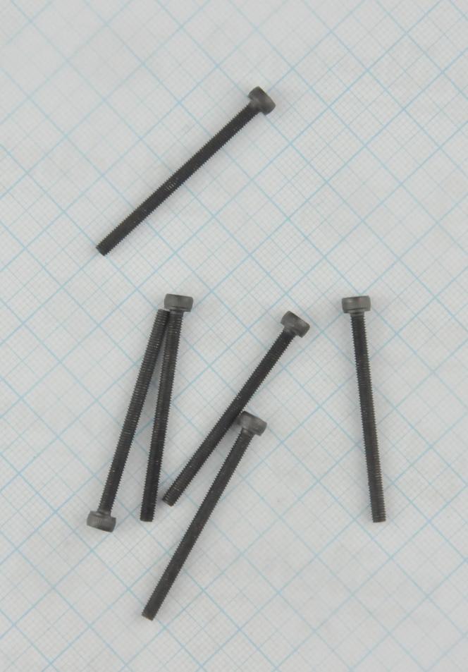 BOLT (10 PIECES)  M3x40MM  FOR  INTERNAL  HEXAGON  2.5MM