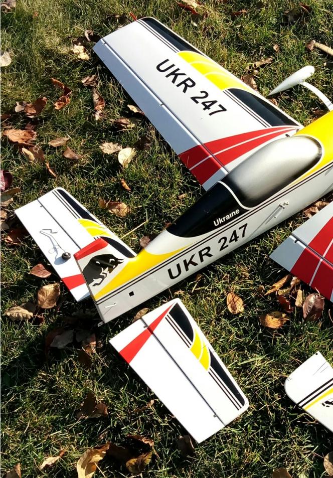 STUNT CONTROL LINE MODEL AIRCRAFT RAVEN