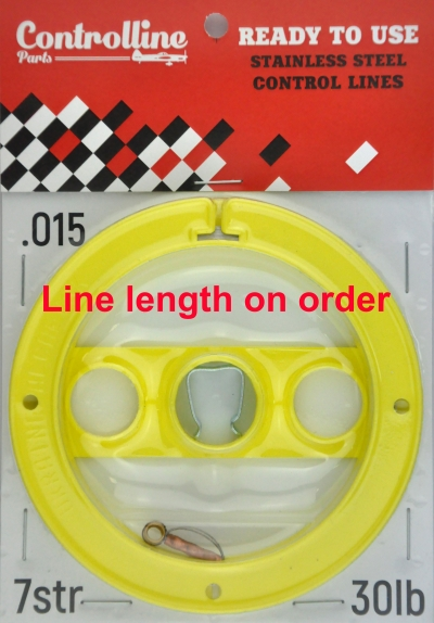 LINES 0.015IN/0.380mm line length on order 7 STRAND 30 LB