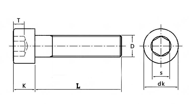 bolt drawing